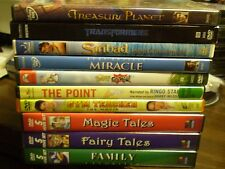 (24) Childrens Adventure DVD Lot: Disney Treasure Planet  Transformers  Rugrats