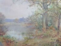 WATERCOLOUR  LISTED ARTIST THOMAS TAYLER IRELAND FREE SHIPPING TO ENGLAND