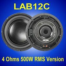 "Eminence LAB-12C 500W / 1000W 12"" 4 Ohm Subwoofer Driver"