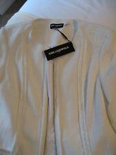 Karl Lagerfeld Paris Glissière Veste en tweed