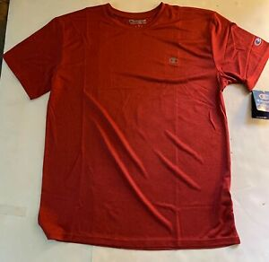 Champion Mens Double Dry 6 Colors Short Sleeve Moisture Wicking T-Shirt NWT