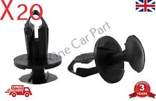 20x Clips For Ford Transit C-Max Door Card Fascia Trim Panel Fastener Black