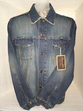 Men's Wrangler 743RTDV Classic Western denim Jacket medium stone Texas cowboy M