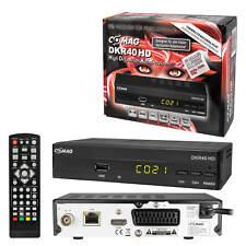 Digital Kabel TV Receiver Kabelreceiver DVB-C HDTV Comag DKR40 USB HDMI SCART