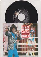 "James Brown, Living In America, 7"" Single, GER 1985"
