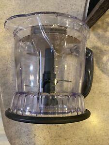 Replacement Pitcher 5 Cup 48 Oz w/ Lids Grey Ninja Master Prep QB900B 30 Blender