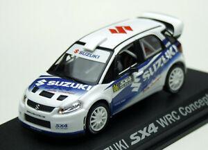 Suzuki SX4 WRC Concept Year 2007, White, Norev-Modell IN M.1: 43