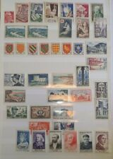 FRANCE ANNÉE 41 TIMBRES COMPLETE 1954 N°968 à N°1007 NEUF** MNH / STAMP