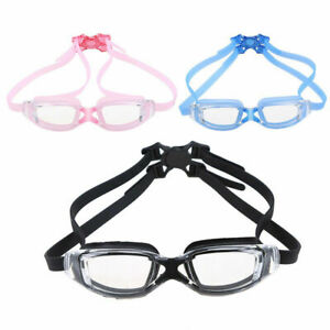 Adult Anti-fog Swimming Goggles Glass Swim Eyewear Glasses Protection with Case