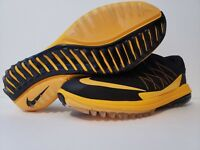 Nike Lunar Control Vapor Golf Shoes Orange and Black Men's Size: 10 849971 004