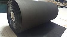 Rib Rubber Matting Black Roll 24 Wide X 5 Ft Long Free Shipping