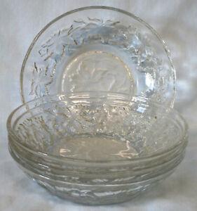 Princess House Fantasia Fruit Bowl, Set of 4