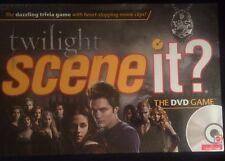 Twilight Scene It TV DVD Trivia Board Game New OOP Edward Belle For Charity LQQK