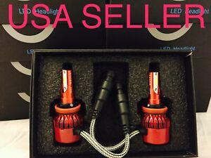 5000k opt7 H11 SIZE LED CAR TRUCK HEADLIGHT BULBS 5K COLOR HEADLAMP 2X BULB