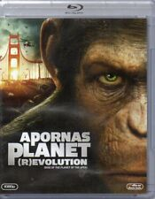 Rise Of The Planet Of The Apes - Blu-ray - DVD - Region 2 - Nordic - New