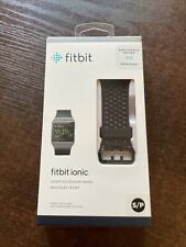 Fitbit Ionice Sport Accesory Band/Bracelet, Black, Small