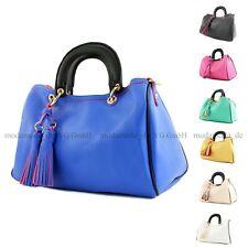 Bolso señora bolso bolso de mano bolsa transporte kunstledertasche de piel de imitación lk711
