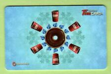 TIM HORTONS Snowflakes 2012 Gift Card ( $0 )