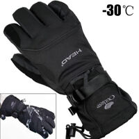-30 Degree Warm Snowboard Gloves Winter Men Snow Waterproof Ski Cycling Thermal