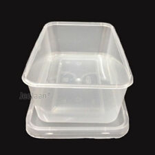20 x Small Freezer / Dishwasher / Microwave Food Containers & Lids C500
