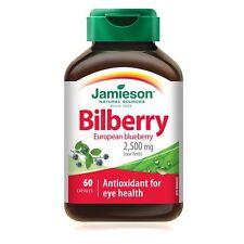 60 C Bilberry extract / antioxidant for eye health - Jamieson