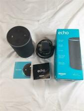 Amazon Echo  2st Generation Grey/Black With Alexa Voice Wifi And Bluetooth