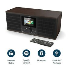 Majority Internet Radio WiFi Alarm Clock with Spotify Connect & Bluetooth