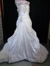 (B906)Edles Damen Braut Standesamt Abend Kleid GR: 38