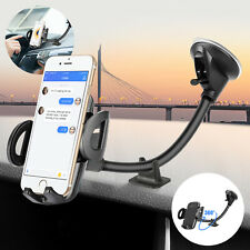 360°Cell Phone Gps Mount Holder Car Windshield Universal Stand w/Flexible Base