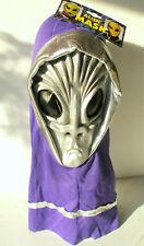 Maske Alien - Grusel - Alien - Monster - Geist silber