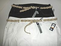 """NWT $52 Womens Bandolino """"Mandie"""" Capri Jeans or Pants , Plus Sz. 18W, 24W"""