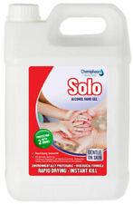 Solo Hand Sanitiser Sanitizer Gel 65% Alcohol -  1 Litre