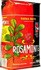 Yerba Mate Rosamonte - 3 Bags of 1kg Each.