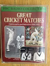 Great Cricket Matches double cassette