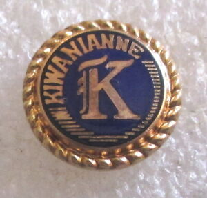 Vintage Kiwanianne Club Member Lapel Pin - Kiwanis International