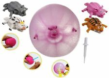 ANIMAL BALLOON INFLATABLE SQUEEZE SPLAT BALL TOY PARTY BAG FILLER STOCKING BALL