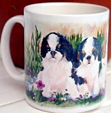 KING CHARLES SPANIEL DOG NEW MUG DESIGN SANDRA COEN ARTIST OIL PAINTING PRINT