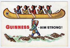 GUINNESS: Advertising postcard (C6792).