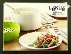 Lekue Microwave Rice and Grain Cooker Healthy Cooking Choice BPA Free