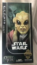 """Star Wars Sideshow Collectibles Exclusive Kit Fisto 12"""" Figure Hot Toys"""