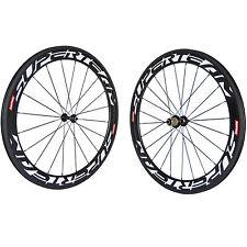 Novatec 291 Hub 60mm Clincher Carbon Wheelset Road Bike SUPERTEAM Carbon Wheels
