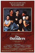 ~~The OUTSIDERS Cast(x3) Authentic Hand-Signed 11x17 poster (EXACT PROOF)~