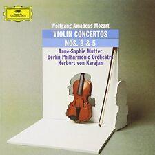 Mozart Violinkonzert Nr. 3, KV 216/Nr. 5, KV 219 (DG, 1978) [CD]