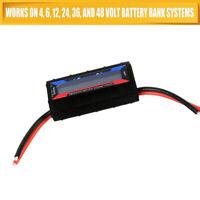 130A DC Combo Digital LCD Volt Amp Watt Meter Power Analyzer Pro Battery Tester