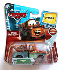 DISNEY PIXAR CARS CHASE MATER WITH GLOW IN THE DARK LAMP IMPERFECT PK SAVE 6%