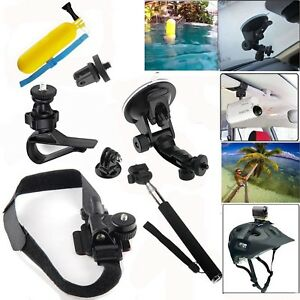 Car Suction Cup Mounts For Sony SJCAM DBPOWER AKASO APEMAN WiMiUS Rollei Camera