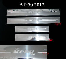 MAZDA BT-50 BT50 PRO SCUFF PLATES STAINLESS STEEL DOUBLE CAB 4 DOORS SILL 12-17