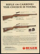 2004 RUGER 10/22 Rifle and Carbine AD Collectible Gun Advertising
