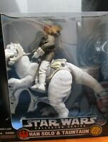 Star Wars Han Solo and TaunTaun Collectors Series By KENNER Action Figure Set