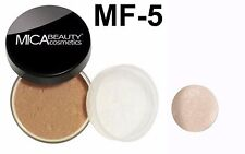 Mica Beauty Foundation Powder Mf-5 Cappuccino +Eye Shimmer Elegance
